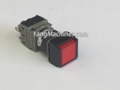 Fuji Electric AH164-SLE3 Command Momentary Switch Push Button Red